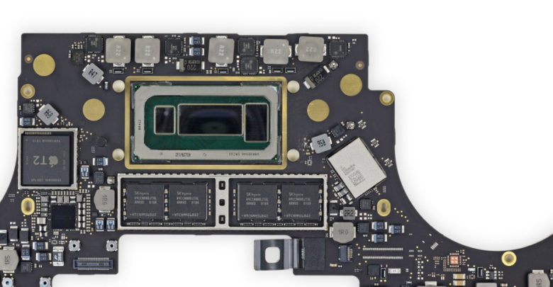 Apple Macnook Logic Board