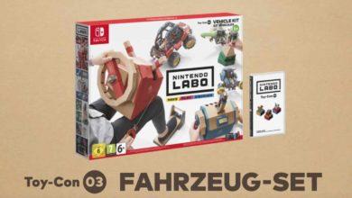 Photo of Fahrzeug-Set für Nintendo Labo erscheint im September 2018