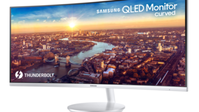 Photo of Samsung QLED Curved Monitor CJ791 mit Thunderbolt 3