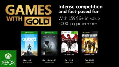 Photo of Xbox – Games with Gold im Dezember 2018