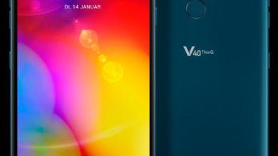 Photo of LG V40 ThinQ kommt im Januar nun doch nach Deutschland