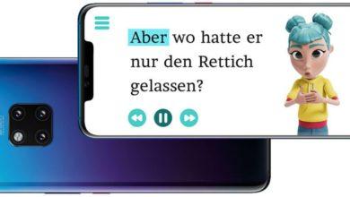Photo of StorySign übersetzt mit der Hilfe von Huawei KI Bücher in Gebärden