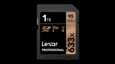 Photo of 1-Terabyte-Speicherkarte von Lexar ist ab sofort erhältlich