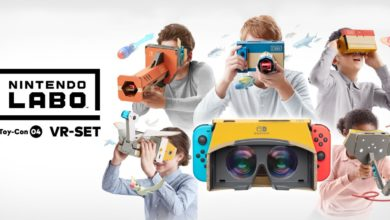 Photo of Nintendo Labo meets VR – Nintendo Switch VR Paket angekündigt