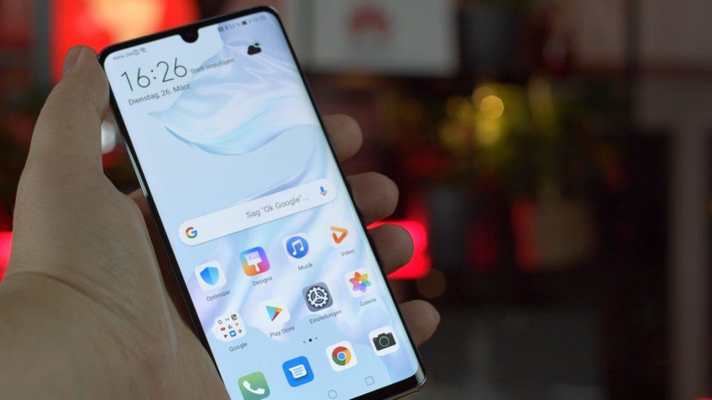 Der Front-Notch des Huawei P30 Pro wurde kleiner