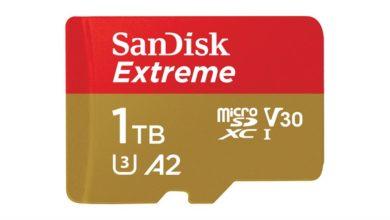 Photo of SanDisk stellt microSD-Karte mit 1 TB Speicher vor