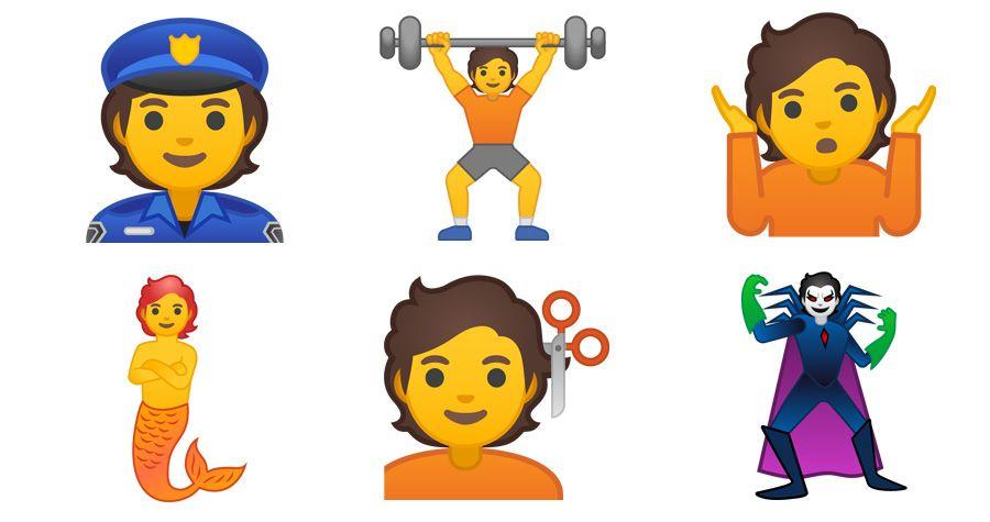Einige der neuen Emojis | Bildquelle: Emojipedia