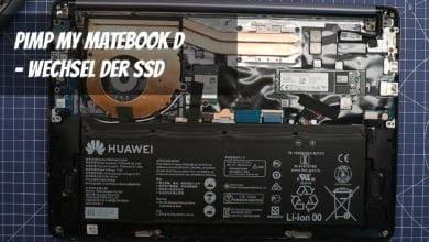 Photo of Wie rüstet man die SSD eines Huawei Matebook D auf?