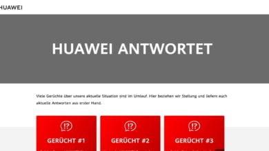 Photo of Huawei gibt Antworten auf neuer Webseite