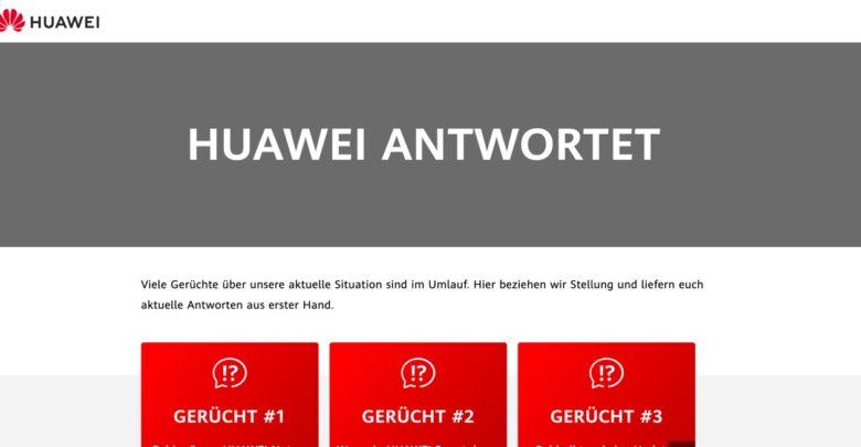 Huawei antwortet