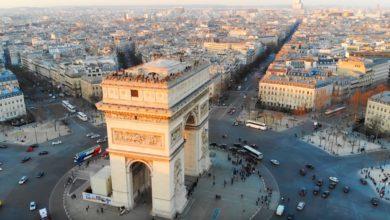 Bild von Im Himmel über der Stadt der Liebe – Paris