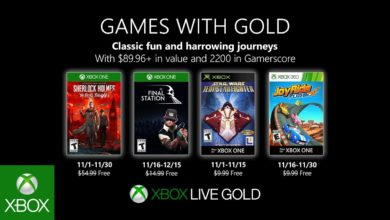 Photo of Xbox Games with Gold im November 2019