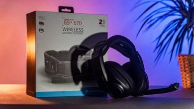 Bild von GSP 670: Kabelloses Gaming-Headset von Sennheiser im Test