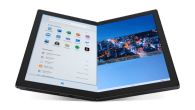 Photo of Lenovo ThinkPad X1 Notebook mit faltbarem Display