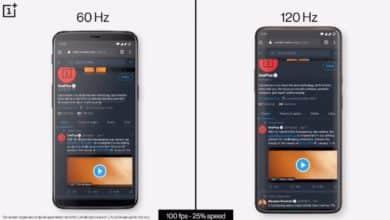 Photo of Smartphone-Displays: Der Unterschied zwischen 60 und 120 Hz im Video