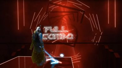 "Bild von ""Toss A Coin To Your Witcher"" in Beat Saber spielen"