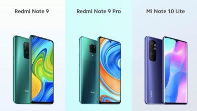 Photo of 3 Neue Redmi Modelle vorgestellt: Redmi Note 9, Redmi Note 9 Pro, Mi Note 10 lite