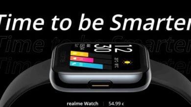 Bild von Realme Watch – Smartwatch für 55€ schon bald in Deutschland verfügbar